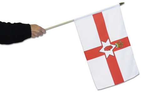 Northern Ireland 'Red Hand' Waving Flag