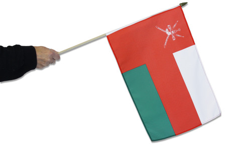 Oman Waving Flag