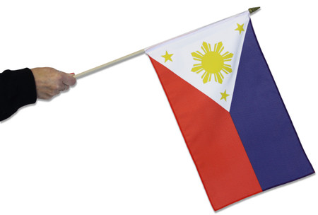 Philippines Waving Flag