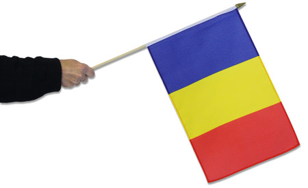 Romania Waving Flag