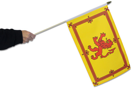 Scotland Lion Rampant Waving Flag