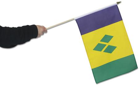 St Vincent & Grenadines Waving Flag