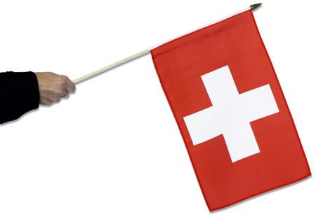 Switzerland Waving Flag