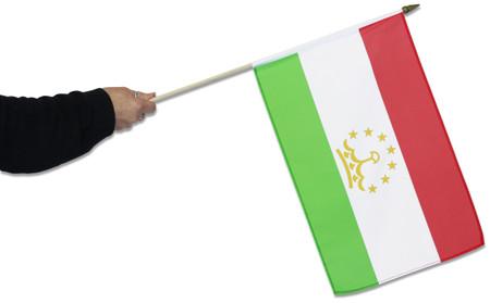Tajikistan Waving Flag