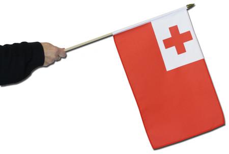 Tonga Waving Flag