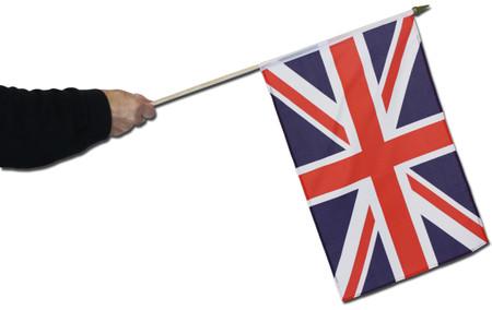 Union Jack Waving Flag