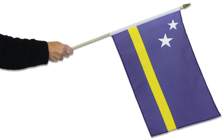 Curacao Waving Flag