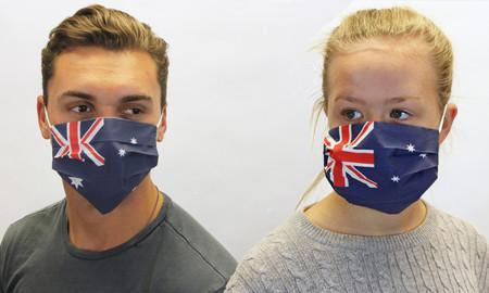 Australian Flag Face Mask