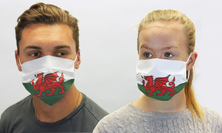 Wales Welsh Flag Face Mask