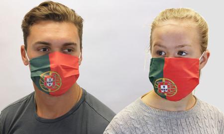 Portugal Portuguese Flag Cotton Face Mask