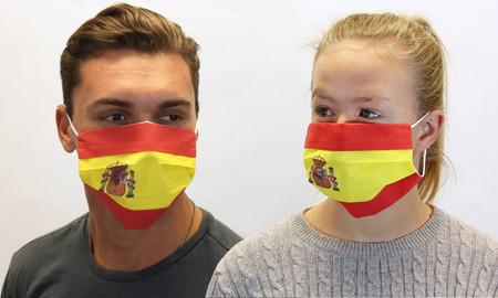 Spain Spanish Flag Face Mask