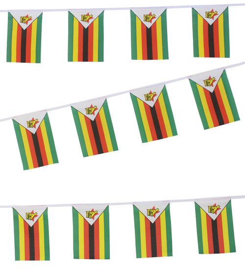 Buy Zimbabwe Flag Bunting,