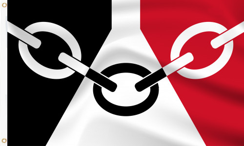 Black Country (West Midlands) Flag