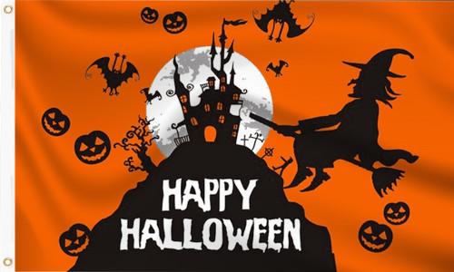 Happy Halloween Flag