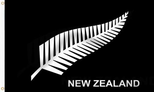 New Zealand `Silver Fern` Flag