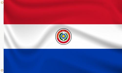 Paraguay (1990-2013) Flag