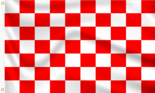 Red and White check flag to buy online