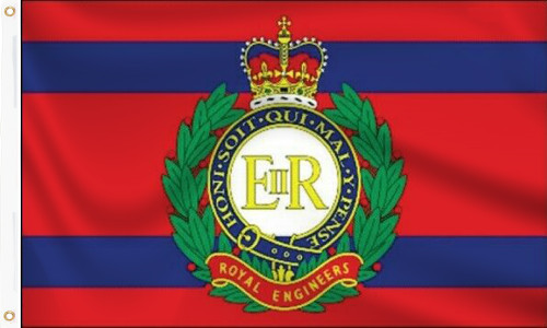 Royal Engineer Corps Flag