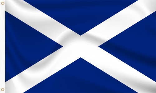 Scotland St Andrew's Cross (Navy Blue) Flag