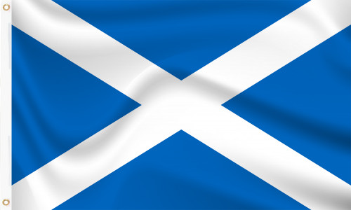Scotland St Andrew's Cross (Official) Flag