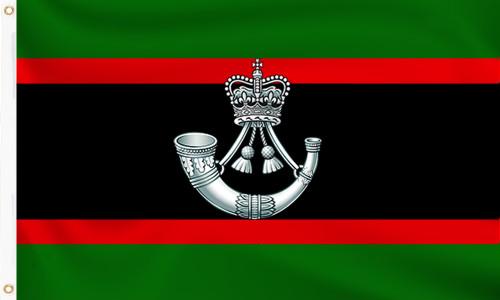 The Rifles Regiment Flag