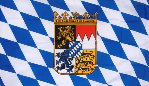 Bavaria Flag (With Crest)