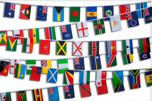 Commonwealth Nations Bunting