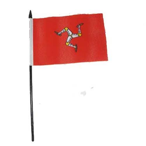 Isle Of Man Desk / Table Flag