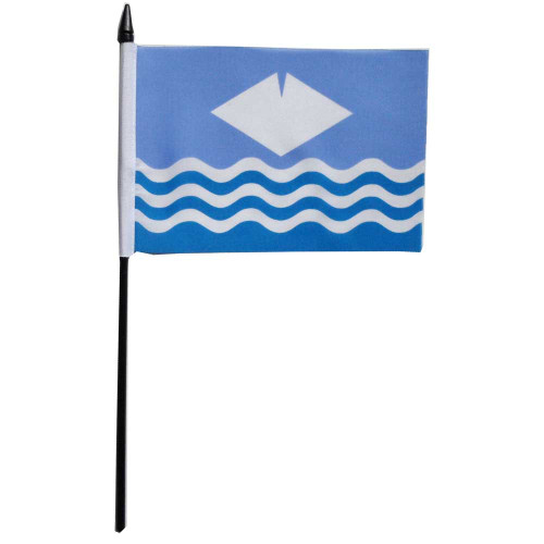 Isle Of Wight Desk / Table Flag