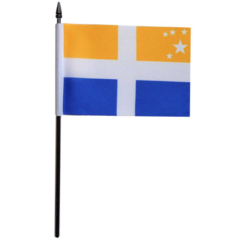 Isles Of Scilly Desk / Table Flag