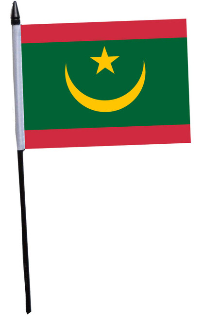 Mauritania Desk / Table Flag