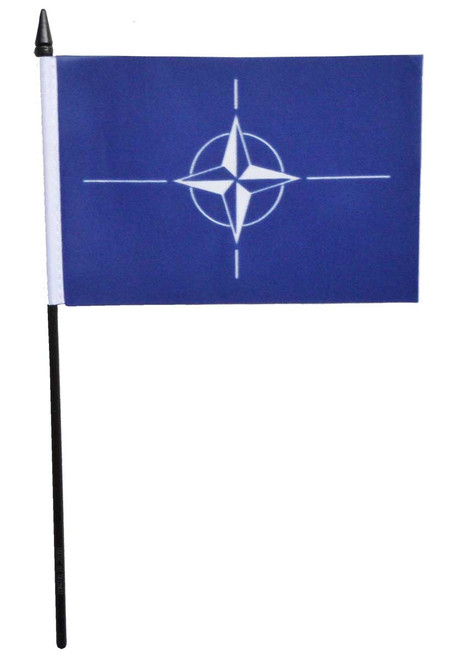 NATO Desk / Table Flag