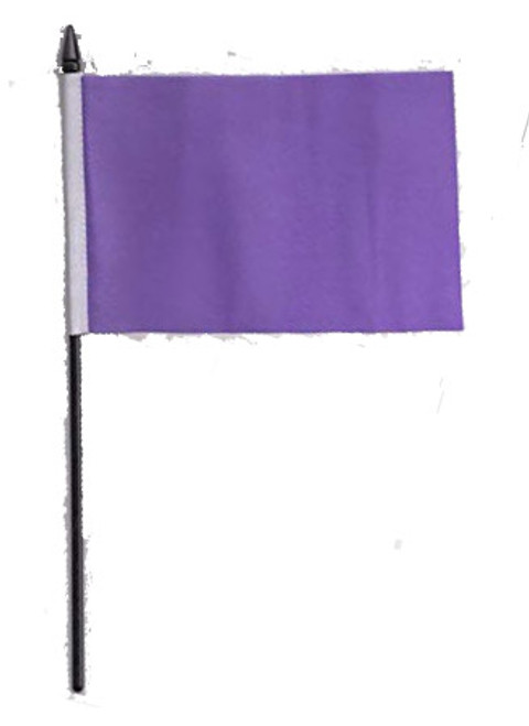 Purple Desk / Table Flag