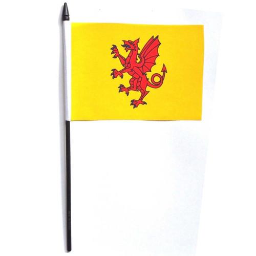 Somerset Desk / Table Flag