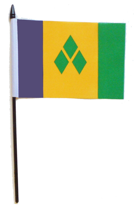 St Vincent & Grenadines Desk / Table Flag