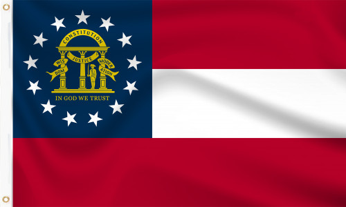 Georgia (US State) Flag