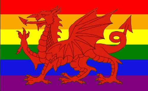 Wales Rainbow Flag
