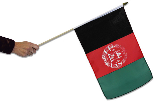 Afghanistan Waving Flag