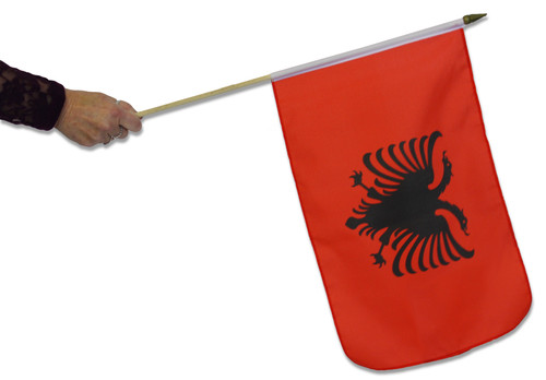 Albania Waving Flag