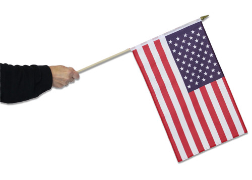 America (USA) Waving Flag