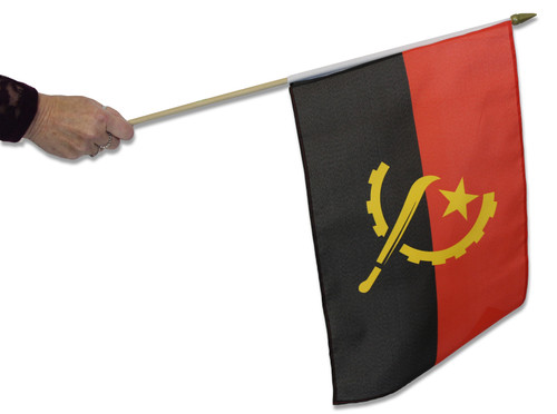 Angola Waving Flag