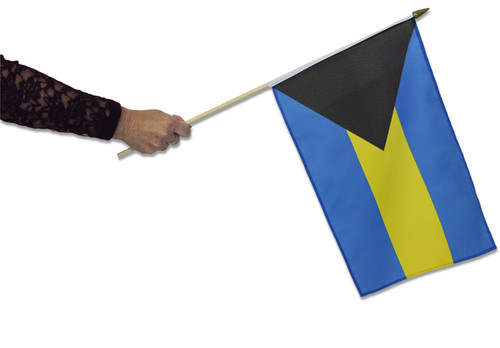 Bahamas Waving Flag