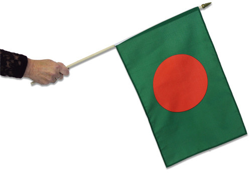 Bangladesh Waving Flag