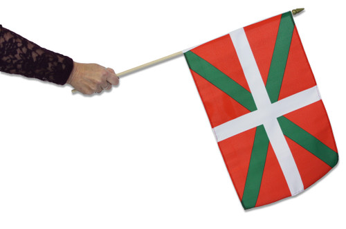 Basque Waving Flag