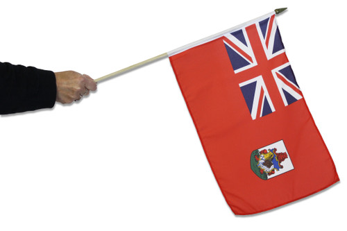 Bermuda Waving Flag