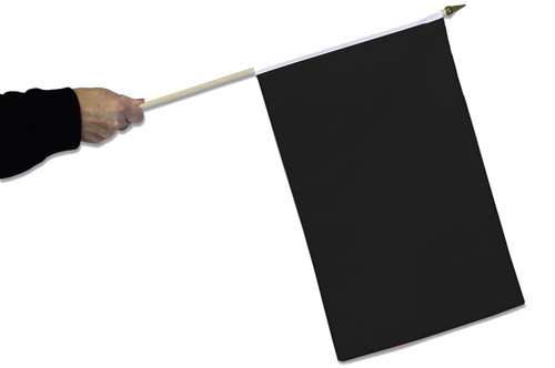 Black Waving Flag