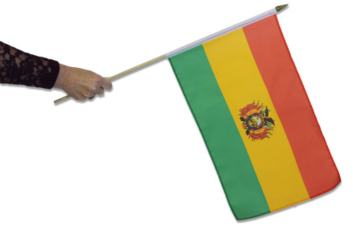 Bolivia Waving Flag
