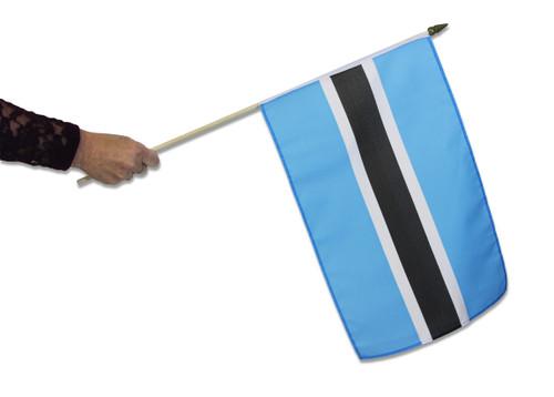 Botswana Waving Flag