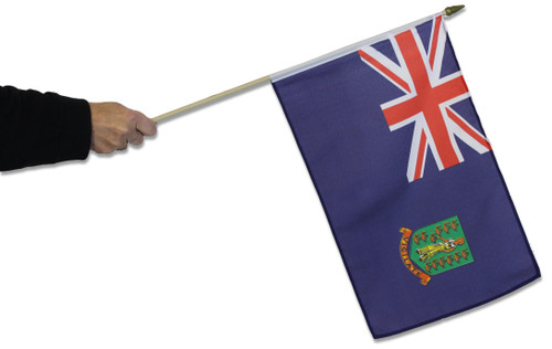 British Virgin Islands Waving Flag
