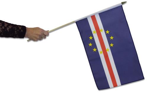 Cape Verde Waving Flag